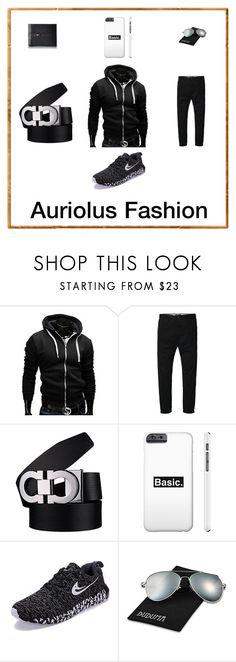 """Men's Streetwear Impression Essentials"" by auriolusfashion on Polyvore featuring men's fashion, menswear, StreetStyle, blackandwhite and MensFashion"