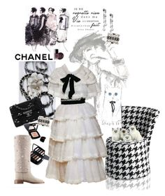 """""""CHANEL"""" by scapin ❤ liked on Polyvore featuring Chanel"""