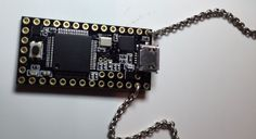 Called the USBdriveby, it's basically a USB microcontroller that is small enough to be worn as a necklace. It will connect to computers via USB and is designed to take advantage of the security flaws found in USB ports. Diy Electronics, Electronics Projects, Tech Gadgets, Cool Gadgets, Usb Drive, Usb Flash Drive, Esp8266 Wifi, Must Have Gadgets, Computer Network