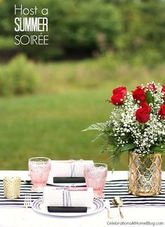 Host a summer soiree