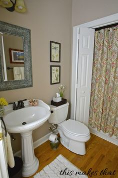 Weekend Bathroom Makeover Ideas On How To Makeover Your Bathroom - Leopard print towels for small bathroom ideas