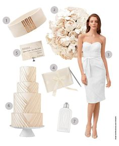 Creamy Coconut Color Wedding Ideas