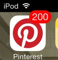 You know you're addicted to Pinterest when you have this many notifications!!!