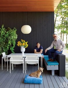 Jonathan Adler and Simon Doonan's Shelter Island Retreat : Celebrity Style : Architectural Digest