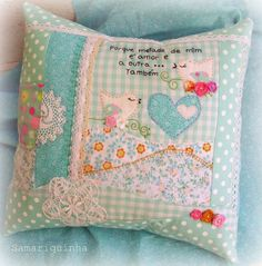 cute handmade pillow by Cloud9