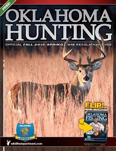 Oklahoma game fish magazine subscription hunting and for Oklahoma non resident fishing license