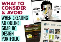 A Know How To Make A Graphic Design Portfolio Unique