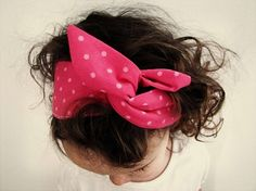 Tutorial: Wired fabric headbands
