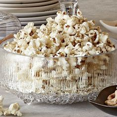 Popcorn with Sweet Butter and Sea Salt - FineCooking