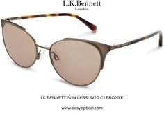 LK BENNETT SUN LKBSUN20 C1 BRONZE Lk Bennett, Bond Street, Eyewear, Mirrored Sunglasses, Feminine, Bronze, London, Luxury, Stylish