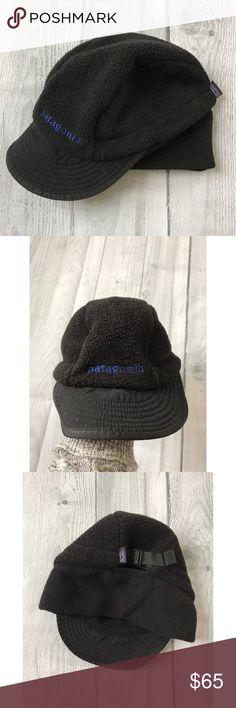 3295c53d795 Vintage 90 s Patagonia Fleece Hiking Hat Rare Vintage 1990 s Patagonia  Fleece Hiking Hat Excellent VTG Condition