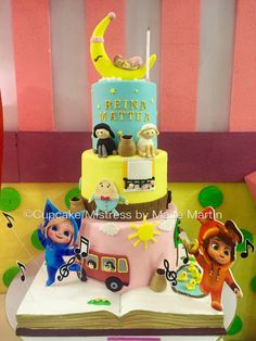Dave and Ava Nursery Rhymes Cake