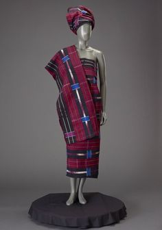 Dress, Yoruba peoples, Africa, 1970's.