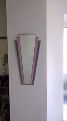 Your place to buy and sell all things handmade Art Deco Period, Stained Glass, My Etsy Shop, Range, Mirror, Grey, Check, Pink, Handmade