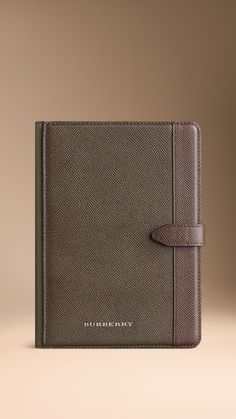 Colour Block London Leather iPad Mini Case - folding iPad mini case in London leather with a colour block design. Find the perfect gift this festive season at Burberry.com #burberrygifts #christmas