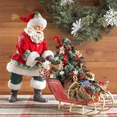 Santas Winter Wonderland Santa Figurine