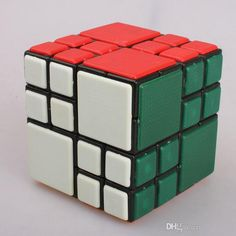 New Extremely difficult 4x4x4 Cube Twist Ai Cube Bandaged Puzzles Magic Cube Black Restricted Bundled Cube #DhgatePin