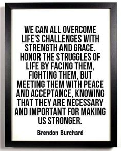 Acceptance,strenght