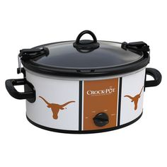 Definitely want to get this! Maybe I'll cook more. Texas Longhorns Collegiate Crock-Pot® Cook