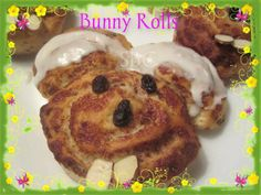 Bunny Rolls... find the recipe on Facebook, in my timeline photos! Follow me there, for more!! :)  https://www.facebook.com/stacie.donelson