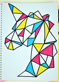unicorn colors notebook