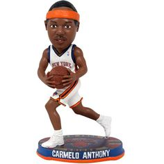 b22a6fcbe86 Forever Collectibles New York Knicks Carmelo Anthony Bobblehead