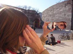 MQ Wien: Der Taschen-Spiegel 'See You In The Sun' von Walking Chair,  Preis ab € 15 im MQ Point