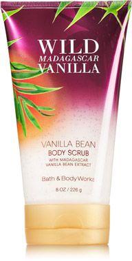 Wild Madagascar Vanilla Vanilla Bean Body Scrub - Signature Collection - Bath & Body Works