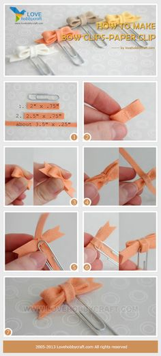 how-to-make-bow-clips-paper-clip