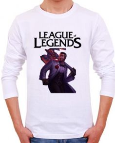 League of Legends plus size t shirt for men Jayce printed tee-