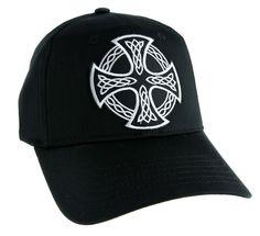 Celtic Iron Cross Hat Baseball Cap Alternative Clothing Sons of Anarchy Biker