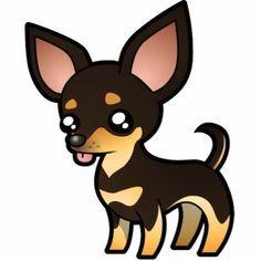 Cute Chihuahua Cart Cartoon Dog Chihuahua Drawing Cartoon Clip Art