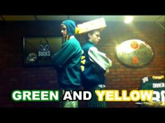 Green and Yellow (Music Video) - 7 Fun Music Videos to Help Green Bay Packers Fans Cheer Up