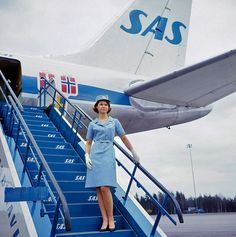 1959 ... Scandinavian Airlines System by x-ray delta one, via Flickr