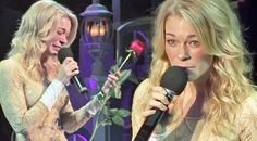 LeAnn Rimes Breaks Down During Passionate Performance Of 'The Rose' At Anti-Bullying Benefit Best Country Music, Country Music Lyrics, Country Music Stars, Music Clips, Music Bands, Ashley Monroe, Country Female Singers, Friendship Wishes, Emotional Songs