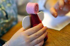 Creare con i bambini, l'Angioletto | Blog Mammole