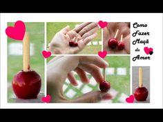 Como fazer maçãs do Amor❤ para MH, Barbie, EAH, Polys, LPS por Paula - YouTube