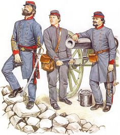 Lt. Col., Artillery - Privates, Artillery (1862)