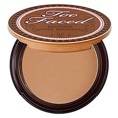 This bronzer may actually work on my fair skin tone.  Too Faced - Milk Chocolate Soleil Matte Bronzing Powder With Real Cocoa   #sephora