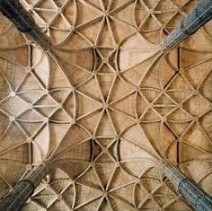 The Geometry of God: The Striking Kaleidoscopic Patterns of European Cathedral Ceilings | Brain Pickings
