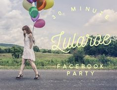 Are you interested in a 30 minute Facebook party? Everyone has such busy schedules let's cater to it! No group for your guests to join either we all know that gets old! Comment below or Message for details! #teamlulalovelies #lularoe #hostaparty #earnfreeclothes #girltime #lularoeparty become a VIP at http://ift.tt/1sE2WFy