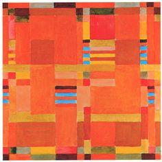 Gunta Stölzl, Design for a carpet, Bauhaus Dessau