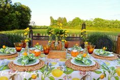 Tablescape Tuesday: Outdoor Bliss! – Everyday Living