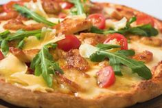 Chicken Arugula Pizza. Pizza lovers delight! This healthy pizza recipe is high on flavor and low on calories. Now you can enjoy your favorite food while sticking to your diet.