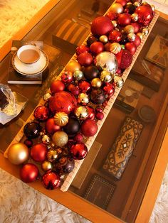 Coffee table (with tea) by sweetington, via Flickr