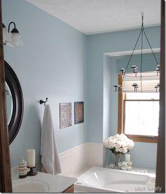 Paint color -Valspar Nordic blue. Could be the perfect master color