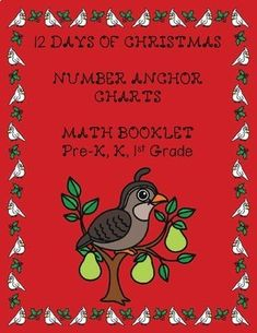 Your kindergarten students will enjoy doing the counting and coloring to the 12 Days of Christmas. Anchor Charts for each of the 12 Days are included. It is a great practice matching number words, numbers and ten frames! Christmas Math, 12 Days Of Christmas, Christmas Activities, Christmas Ideas, Winter Activities, Holiday Fun, Holiday Ideas, Teaching Writing, Teaching Ideas