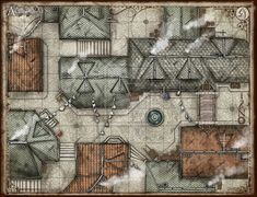 The Alleyways Battlemap by TheRedEpic on deviantART