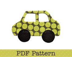 Applique Template, Car, Vehicle, Transport, DIY, PDF Pattern by Angel Lea Designs
