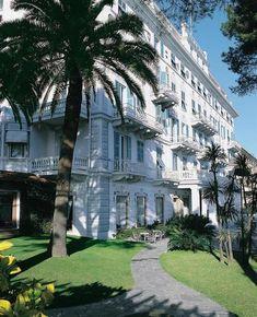 Grand Hotel Miramare Santa Margherita Ligure, Italy Santa Margherita Ligure, All About Italy, Portofino Italy, Grand Hotel, Mansions, House Styles, Summer, Image, Home